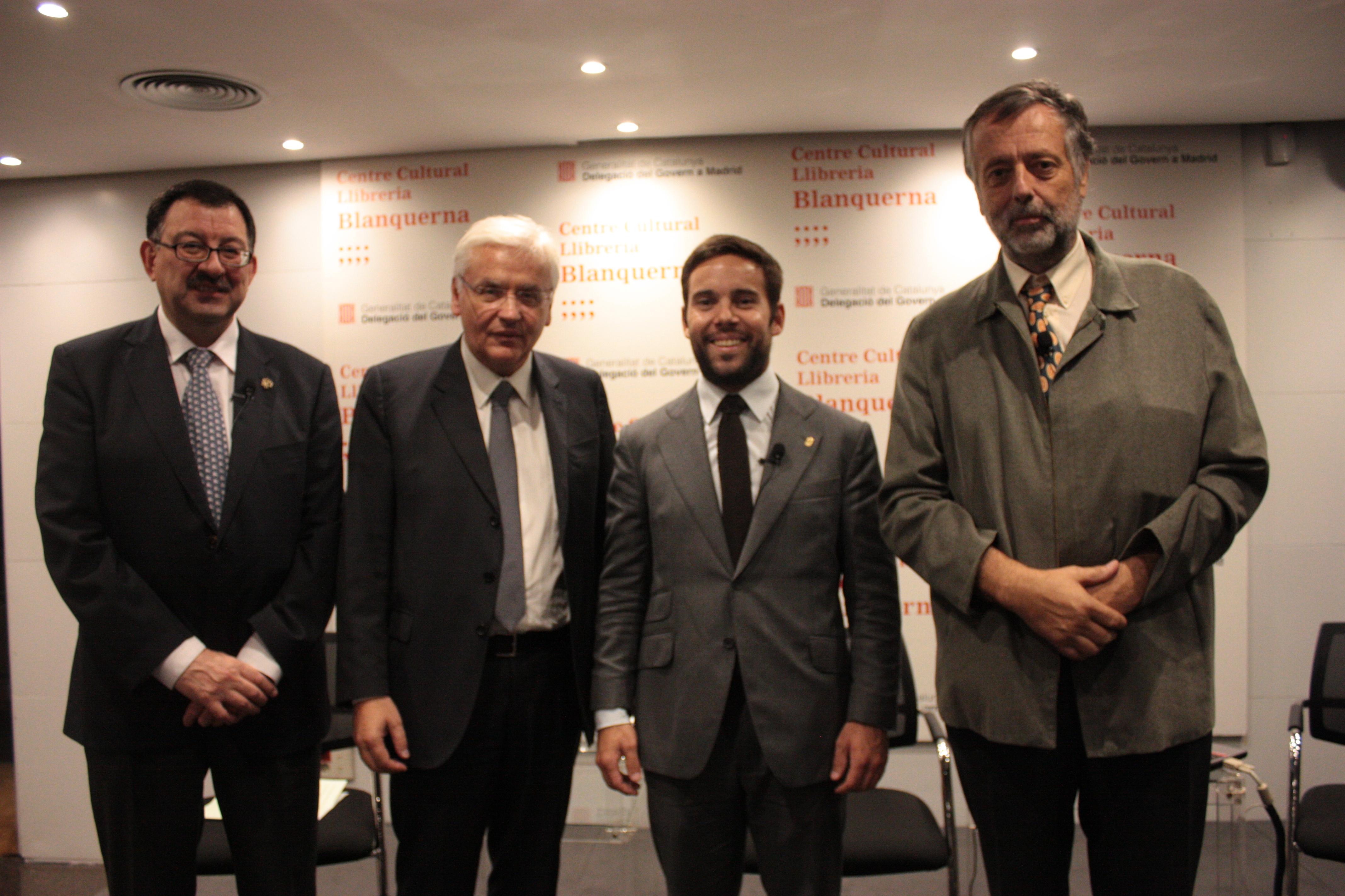 Presentacion Der IEA-AALO En Centre Culturau Blanquerna, Delegacion  Deth Govèrn Dera Generalitat En Madrid