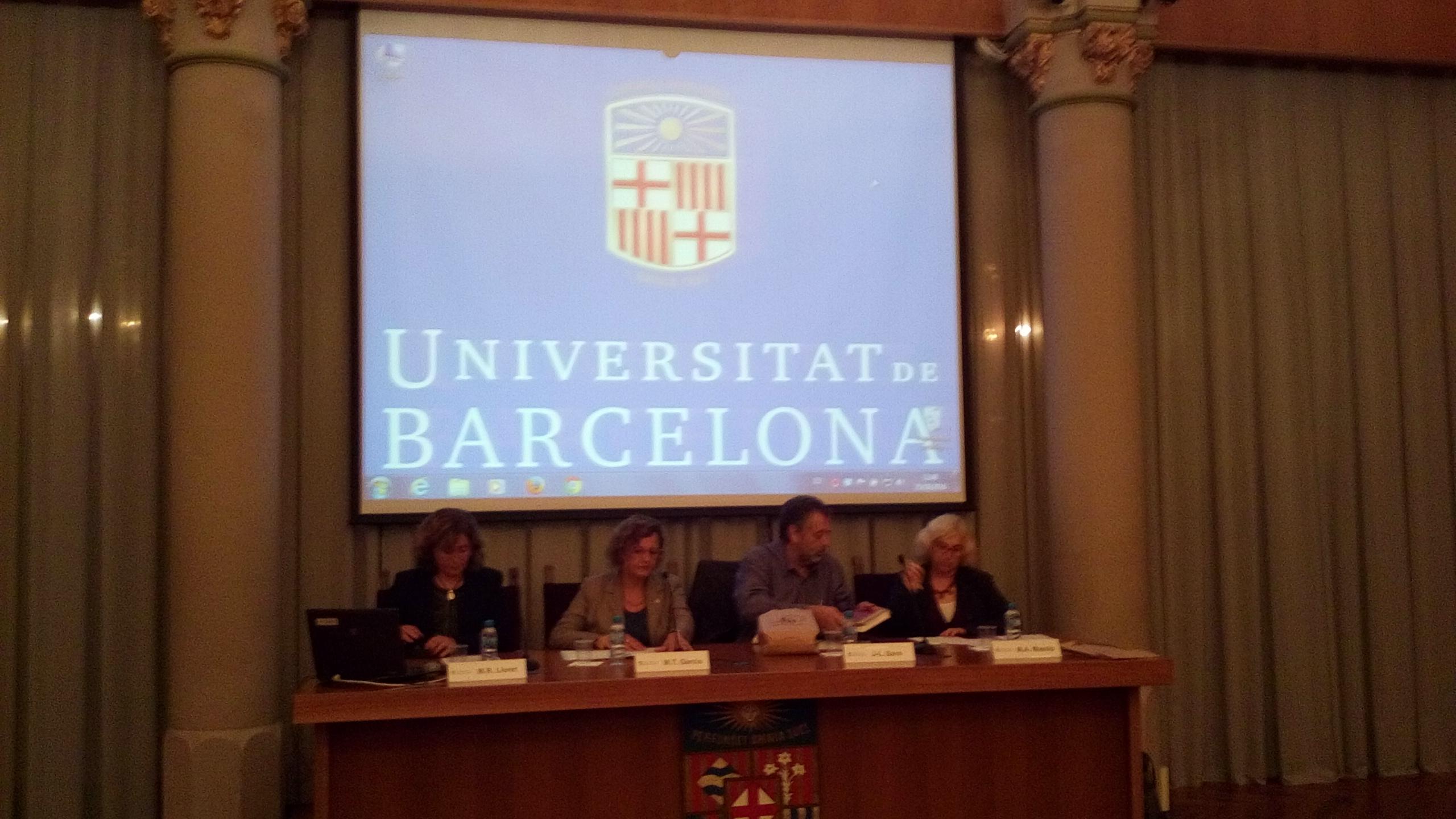 PRESENTACION DER IEA-AALO ENA UNIVERSITAT DE BARCELONA