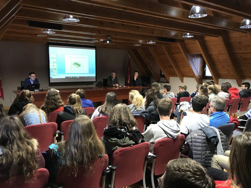 Recepcion A Joeni Estudiants De Catalonha E Occitània