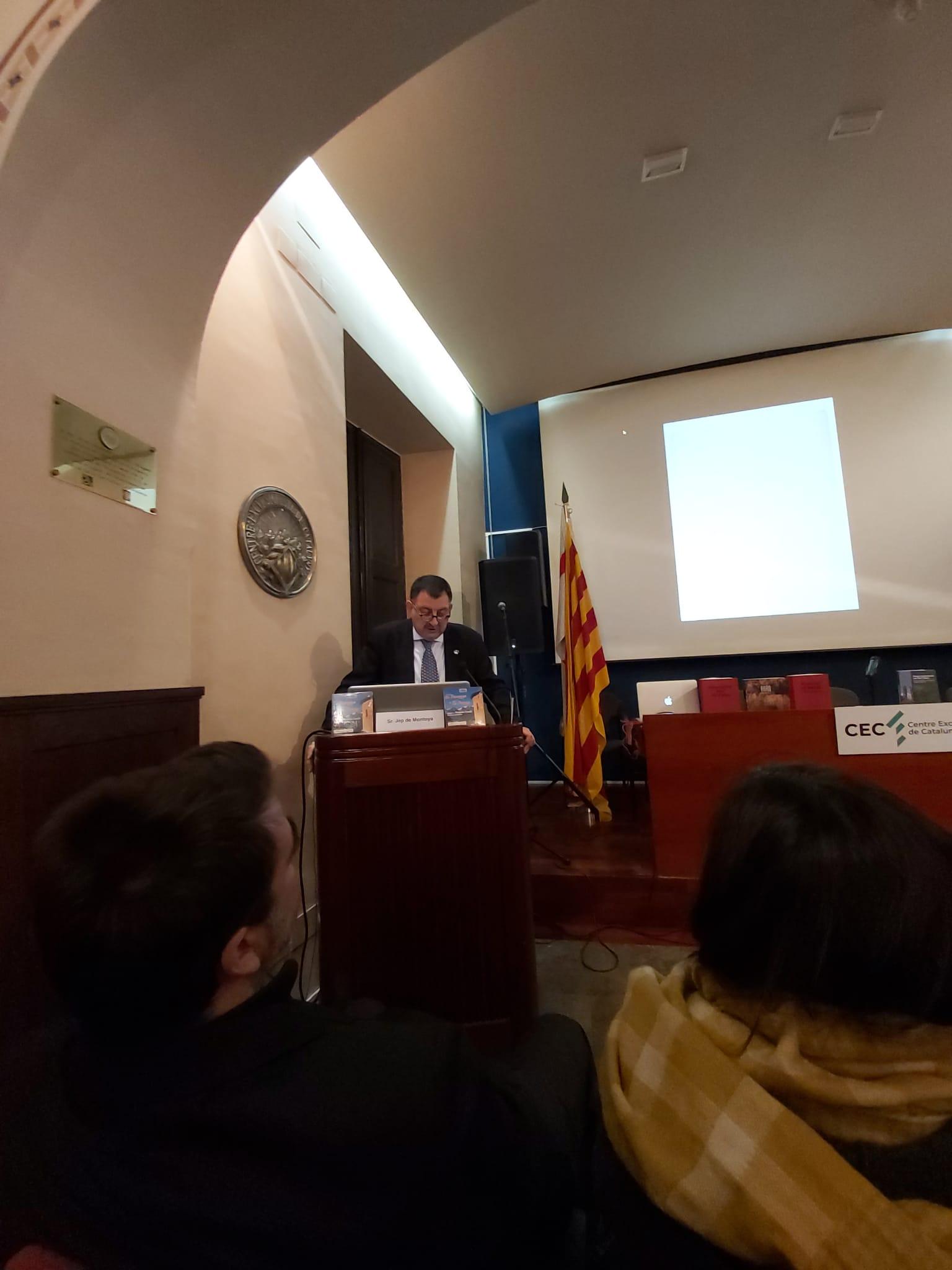 Conferéncia De Jèp De Montoya Sus Condò En CEC