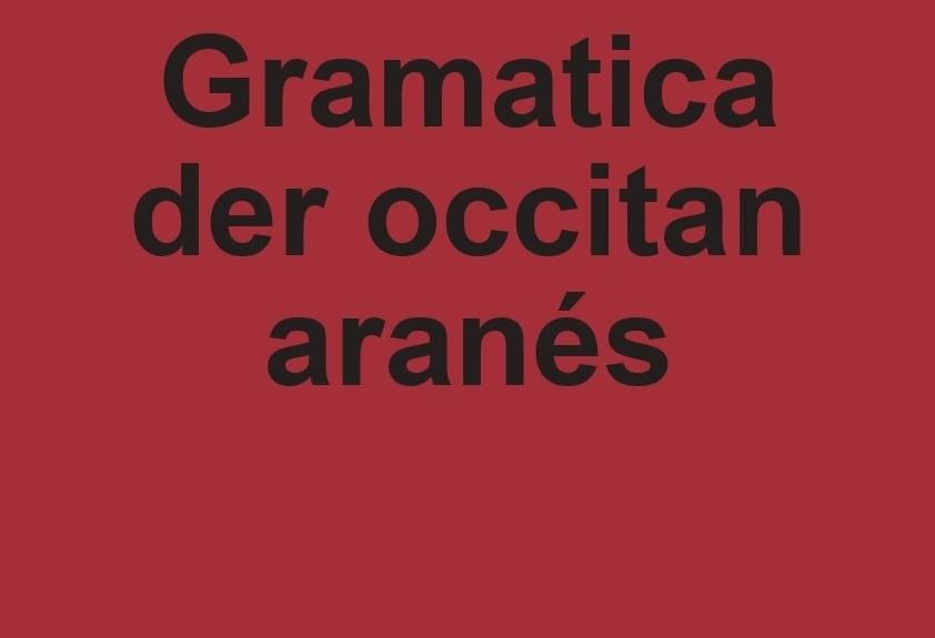 PUBLICACION DERA GRAMATICA DER ARANÉS