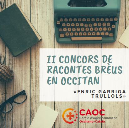 ETH CAOC CONVÒQUE ETH SEGON CONCORS DE RACONDES BRÈUS
