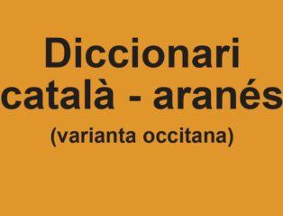 Era Acadèmia Publique Eth Diccionari Català-aranés