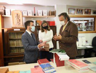 Eth President Dera Generalitat Visite Era Acadèmia