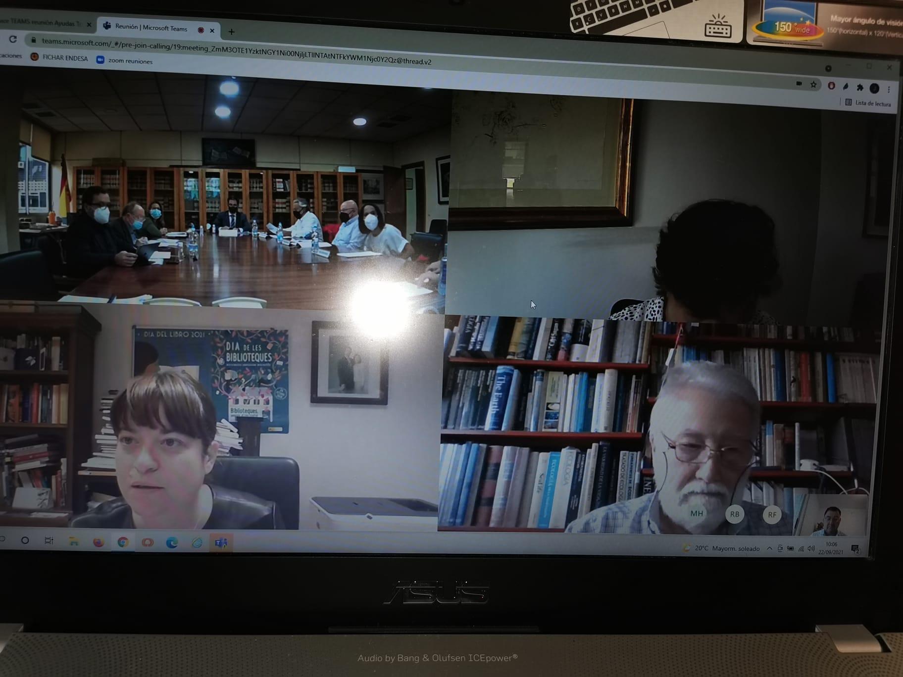 Participacion Dera Acadèmia Ena Comission D'avaloracion D'ajudes Ara Traduccion Entre Lengües Der Estat